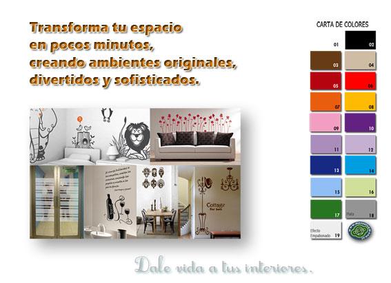 Vinilos decorativos adhesivos for Adhesivos de pared infantiles